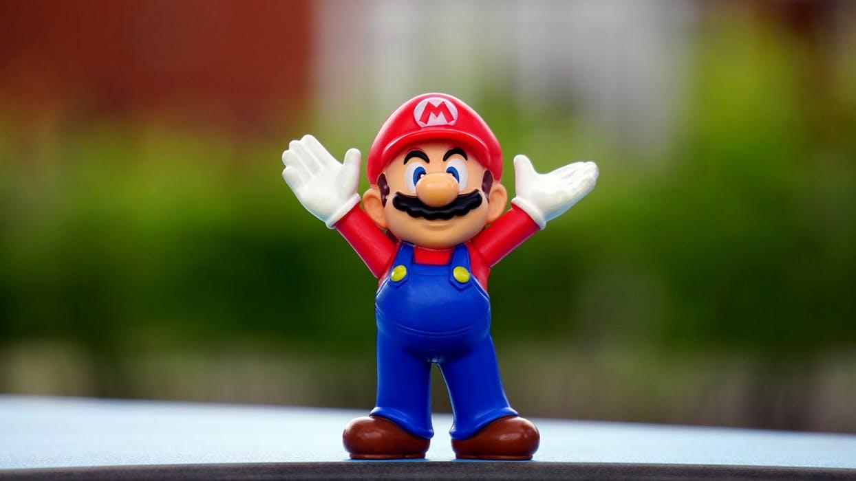 Jumpman blev känd som Mario