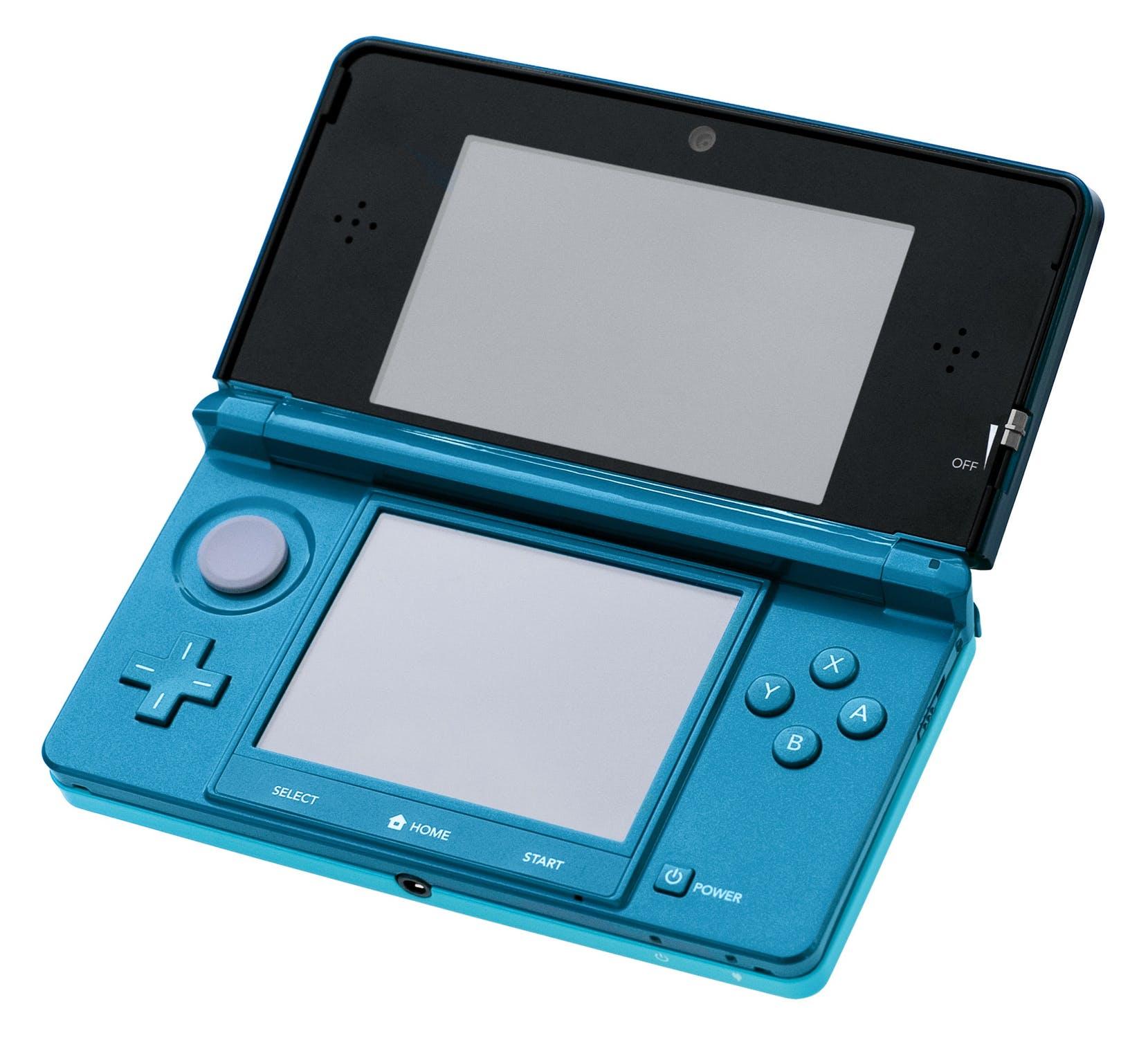 En elektronisk spelkonsol